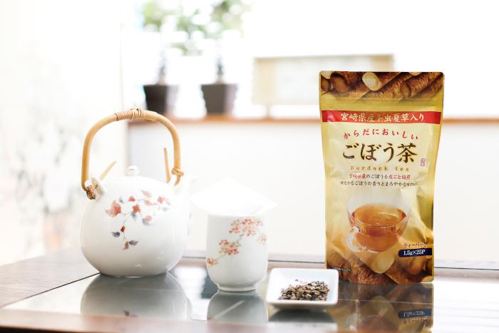 冬虫夏草入りごぼう茶